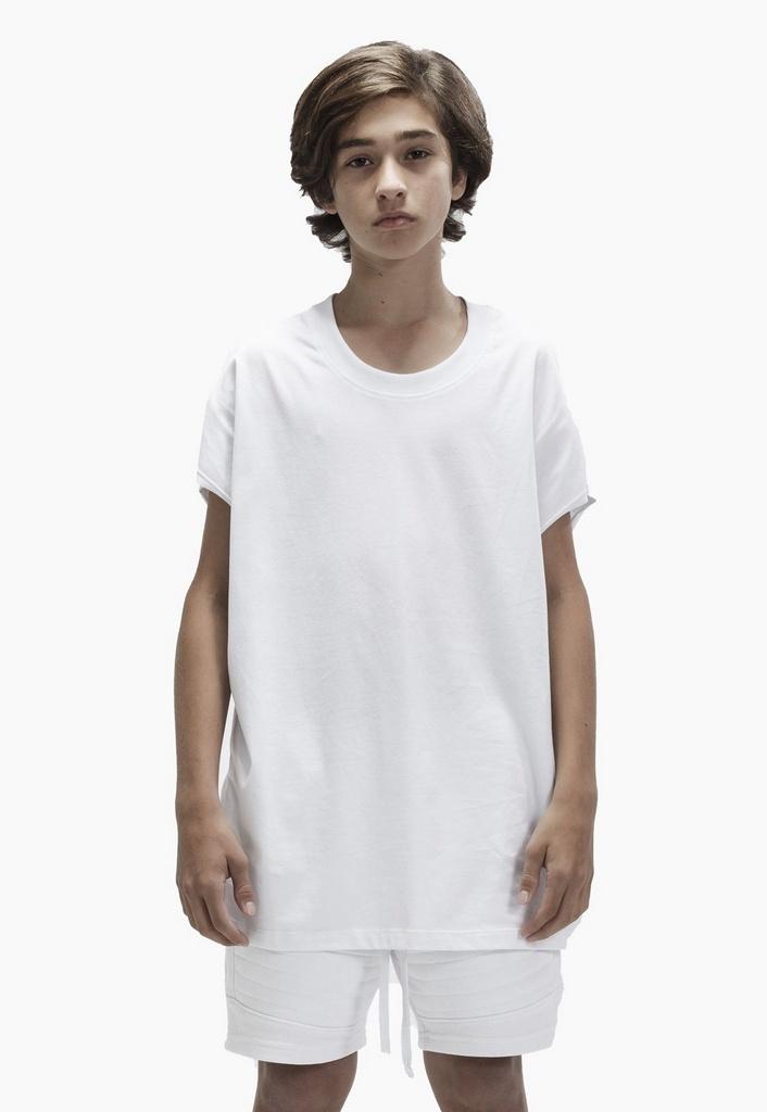 Regata Machão Essential Infantil Branca