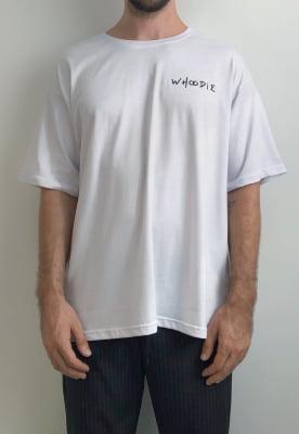 Camiseta Oversized Branca Joshua